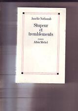 amelie Nothomb - stupeur et tremblements - albin michel -  etat correct