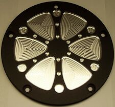Custom points/Cam-cover Fits Harley Davidson  6 Spoke 5 hole