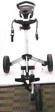 CaddyLite 13.5 Quad-Fold Deluxe Golf Push Cart Silver/Black Average 8.0