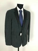 Roy Robson Sakko Jacket gefüttert Patches Gr.50 Schurwolle NEU mit Etikett