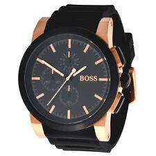Polierte Armbanduhren im Luxus-Stil mit 24-Stunden-Zifferblatt für Herren