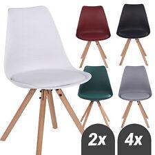 Esszimmerstühle Polsterstuhl Wohnzimmerstuhl Küchenstuhl Sitzfläche Holzbeine