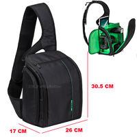 DSLR Shoulder Sling Camera Case Bag For Nikon D3100 D3200 D5100 D5200 D7000