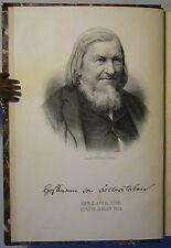HOFFMANN VON FALLERSLEBEN: LYRISCHE GEDICHTE, EA 1890 GESAMMELTE WERKE Band 1