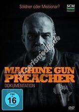 DVD: MACHINE GUN PREACHER - Söldner oder Missionar - Dokumentation  *NEU*