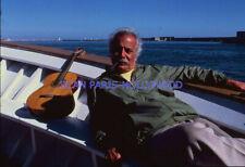 GEORGES BRASSENS 1970s DIAPOSITIVE DE PRESSE ORIGINAL SLIDE #5
