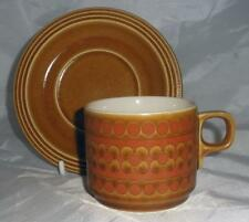 Earthenware Hornsea Pottery Cups & Saucers