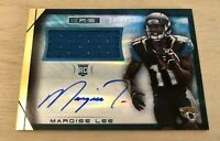 2014 Panini Rookies and Stars Marquise Lee Rookie RC Jersey Auto Gold #/49 SP 🔥