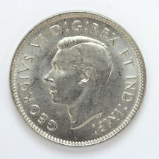 1938 Canada 5 Cents George VI Km33 - Unc #01271909g