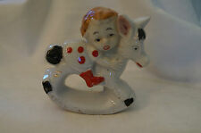 Collectable - Little Girl on a Rocking Horse - Figurine - It Rocks.
