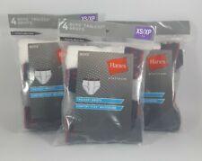 3x Hanes Platinum Boys Tagless Comfort Flex Briefs XS/XP X-Small 4-5 Underwear