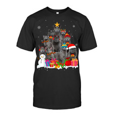 Funny Russian Blue Christmas Tree Pet Cat Lover Gift T Shirt All Sizes S-5Xl