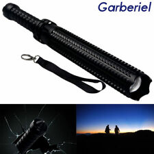 Extendable Tactical Police Flashlight 18650 Led Torch Emergency Lamp Night Light