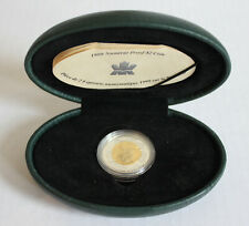 1999 Royal Canadian Mint Nunavut proof $2 coin (complete with box) toonie