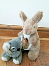 AUSTRALIA WINDMILL TOYS KANGAROO WITH JOEY & UNI TOYS KOALA BOOMERANG ANIMAL