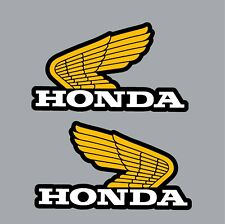 HONDA TANK DECALS REPRO for Z50R  XR75 & Others