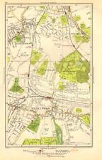 BECKENHAM. Bellingham, Lower Sydenham, Southend, Clock House 1923 old map