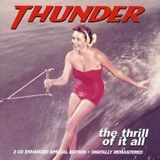 Thunder : The Thrill of It All CD Expanded  Album 2 discs (2004) ***NEW***