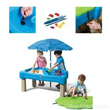 Sand Box Water Play Table Sand Activity With Cover Best Kid Children Toy New