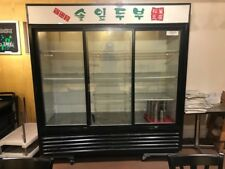 used good condition True Gdm-69 Commercial Refrigerator, three door. Pick- up