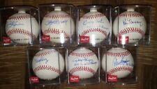 "Cincinnati Reds '75,'76 WS Champs ""Big Red Machine"" lot of 7 auto baseballs"
