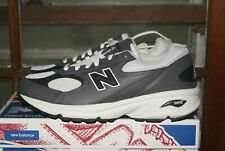 Mens New Balance ML498GN Leather Grey Blue White 9 or 10  Run Walk Shoes