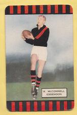 Australia AFL VFL 1950s  swap card MCCONNELL ESSENDON