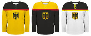 NEW 2021 Team Germany Hockey Jersey NHL Rieder Seidenberg Ehrhoff Draisaitl