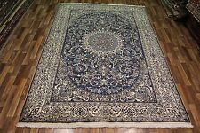 GREAT PERSIAN NAIN RUG, WOOL AND SILK HAND KNOTTED RUG 305 X 205 CM - 10 X 7 FT