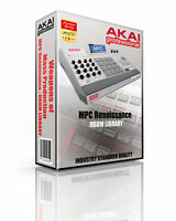 Akai MPC Renaissance Kits/Drum Machine WAV Samples Library: digital delivery