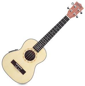 Tenor Ukulele Uke Tonabnehmer Pickup Tonabnehmer EQ Hawaii Gitarre Fichte Natur
