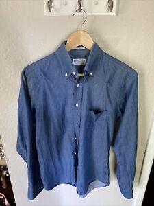 GANT Rugger New Haven Connecticut American sports Button Up Shirt Men's Size S