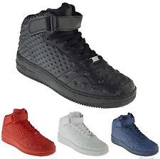 Herren Damen High-Top Sneakers Sportschuhe Laufschuhe Training Schuhe Weiß NEU