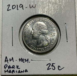 2019 W American Memorial Park Mariana Islands quarter