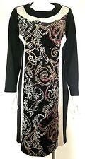 BNWT James Lakeland Clara Central Estampado Vestido Talla 18 RRP £ 145,