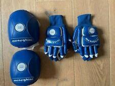 Roller hockey gloves and knee pads - MENEGHINI