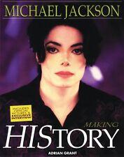 Michael Jackson Making History Book NEW 000335646