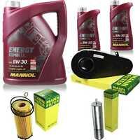 Inspektionspaket 7 L Energy Combi LL 5W-30 + MANN Filterpaket 10929603