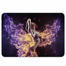 "XXL Gamer Mousepad ""Fantasy Girl"" - 40x28cm - Gaming Mauspad - SciFi - Gothik"