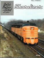Shoreliner  Vol.37 No.2 New Haven Yankee Clipper Train Cars I-4 Decorated Ads