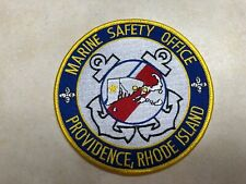 US Coast Guard Marine Safety Office Providence Rhode Island Patch