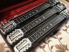 Fender Stringmaster Triple Neck 8-Strings Lap Steel Super Rare w/HC