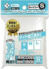 New Broccoli sleeve protector emboss & Clear S [BSP-13] from Japan