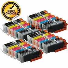 24pk PGI-250XL CLI-251XL Gray Ink Cartridge+Chip For Canon Pixma MG7120 MG6320