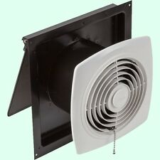 "KITCHEN EXHAUST FAN 8"" Pull Chain White Wall Ventilation Laundry Room Workshop"