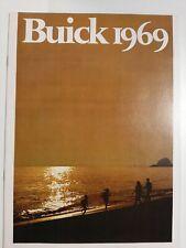 Vintage Original 1969 Full Line Buick Electra Skylark GS Riviera Sales Brochure