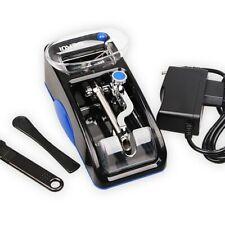 Blue Automatic Cigarette Roll Cigarette Machine Electric Tobacco Injector Roller