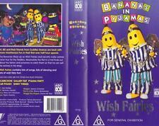 BANANAS WISH FAIRIES  VHS VIDEO PAL~ A RARE FIND