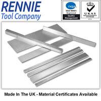 4mm Gauge Plate - All Widths - 500mm Long. G.F.S.Ground Flat Stock O1 Tool Steel