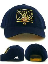 b973bf2df6b Cleveland Cavaliers Cavs New Adidas Slouch Navy Blue Dad Era Snapback Hat  Cap